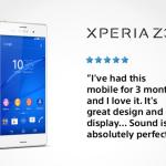 「片手キーボード」モードで片手入力を快適に「Xperia Z3 SO-01G」